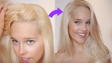 déjaunir le blond