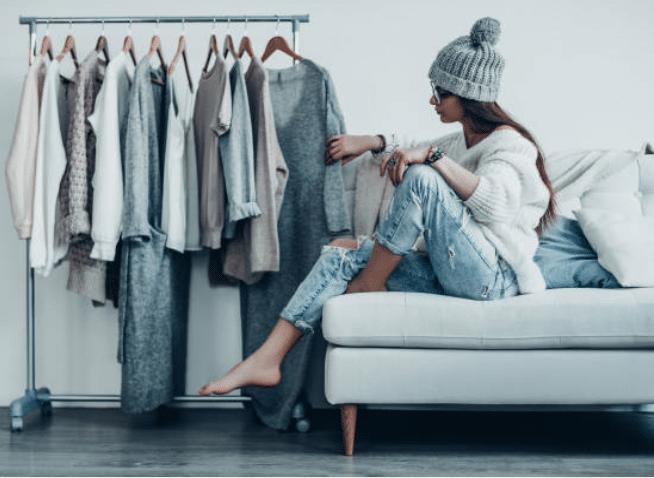 choisir tenue garde-robe penderie vêtements
