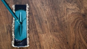 parquet en bois plancher nettoyer