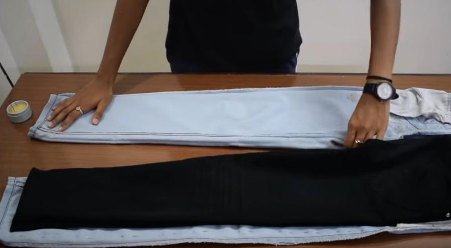 méthodes pour rétrécir un jeans