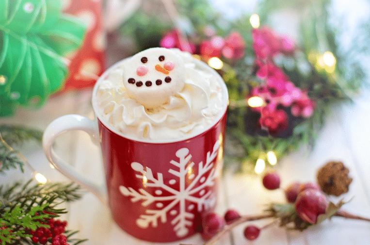 noël chocolat chaud hiver
