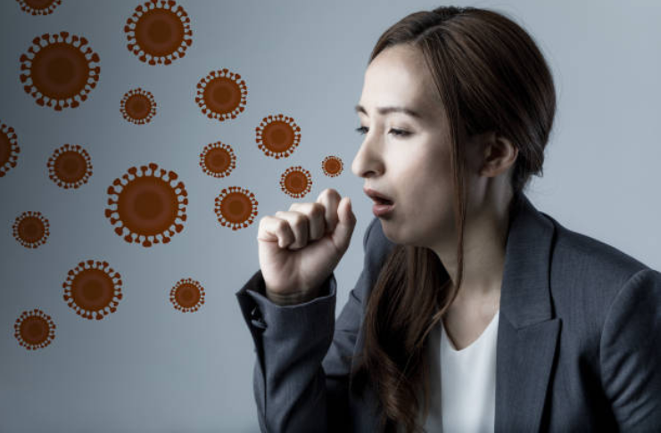 tousser éternuer contaminer rendre entourage malade microbes virus