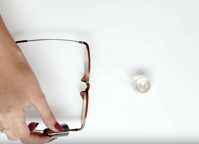 vernis transparent pour sécuriser les vis