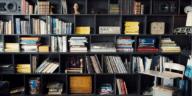 belle bibliothèque rangement décoration