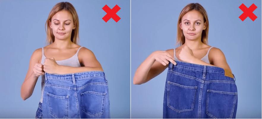 choisir un jean à la taille parfaite