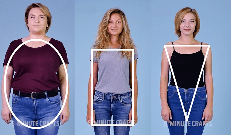 morphologies jean taille mi haute normale