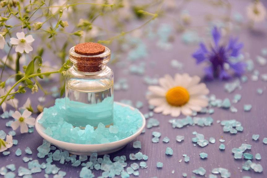 sels de bain huile essentielle