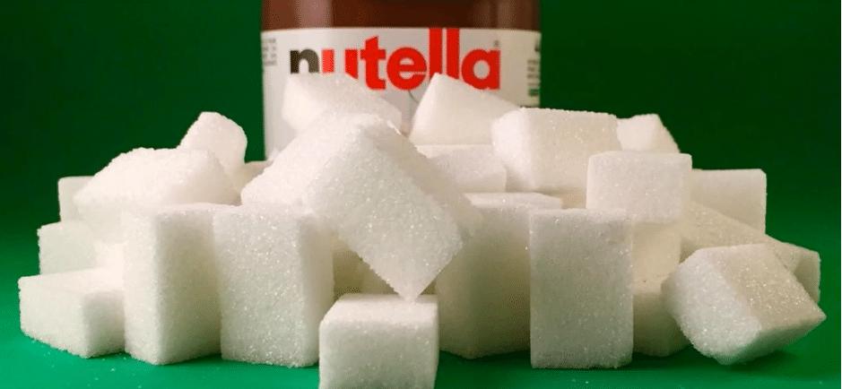 trop de sucre dans le nutella