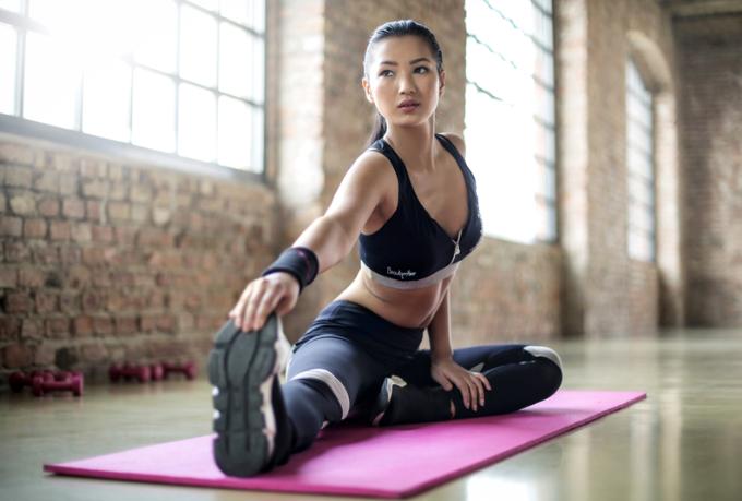 étirement de la jambe crampe exercice sport