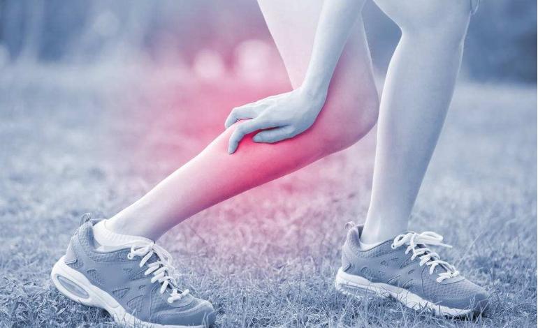 jambe crampe douleur