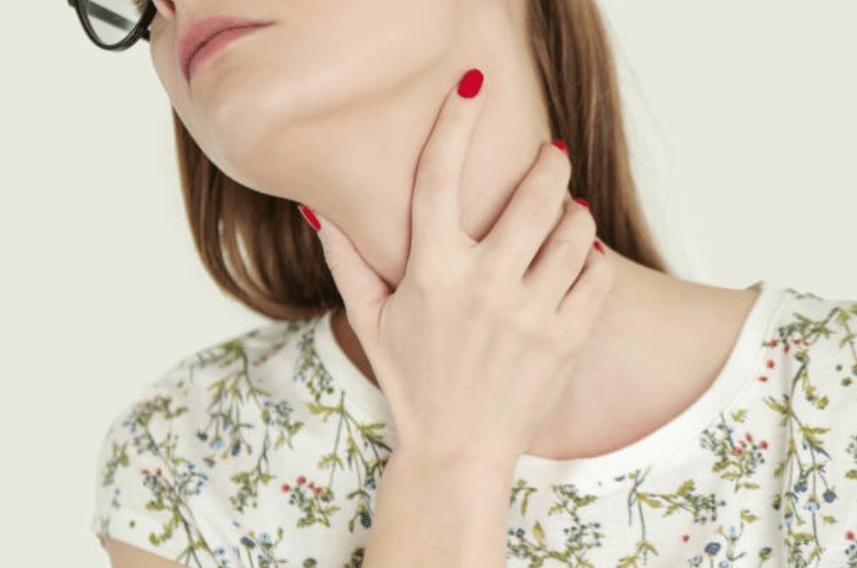 laryngite mal de gorge
