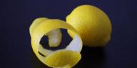peau de citron pelure épluchure