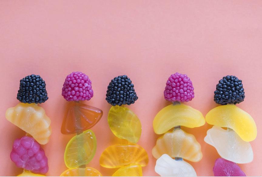 sucreries gourmandises bonbons