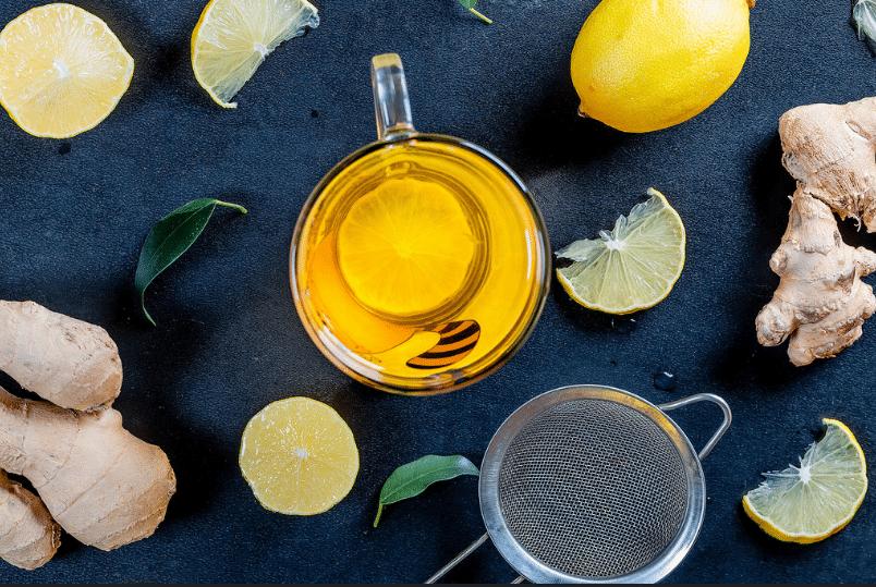 thé au citron gingembre