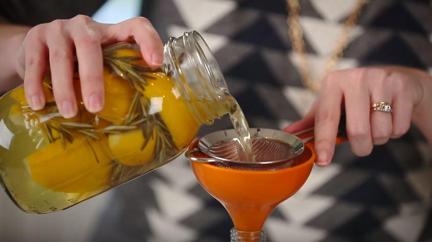 vinaigre peau de citron