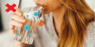 boire de l'eau verre hydratation ne pas faire