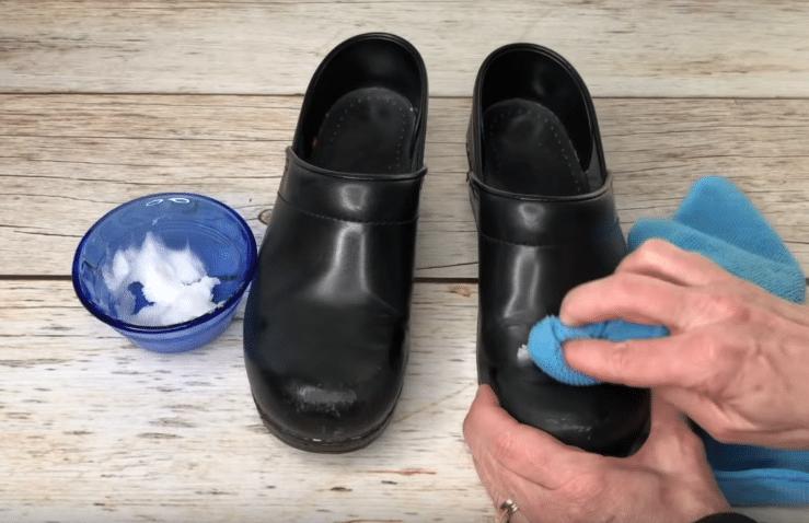 huile de coco chaussures