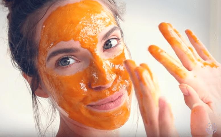 masque au miel curcuma