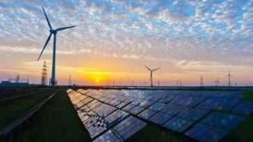 électricité verte panneaux solaires éoliennes