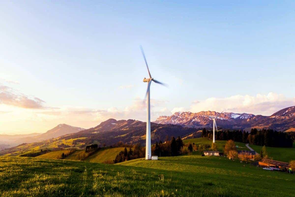 éolienne électricité verte