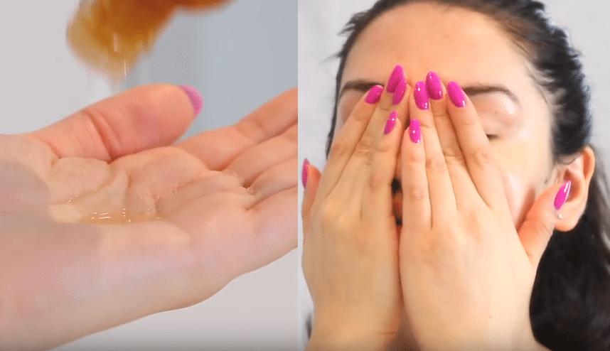appliquer sa lotion pour le visage sans coton soins visage