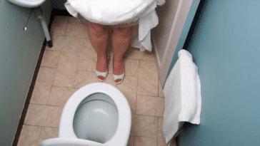 faire pipi robe de mariée