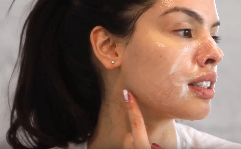 nettoyage de la peau