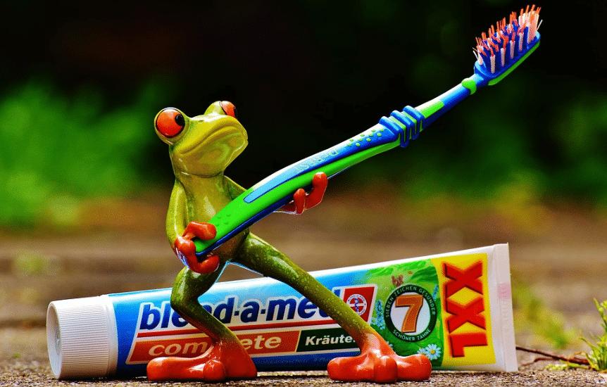 brosse à dents brosser les dents brossage