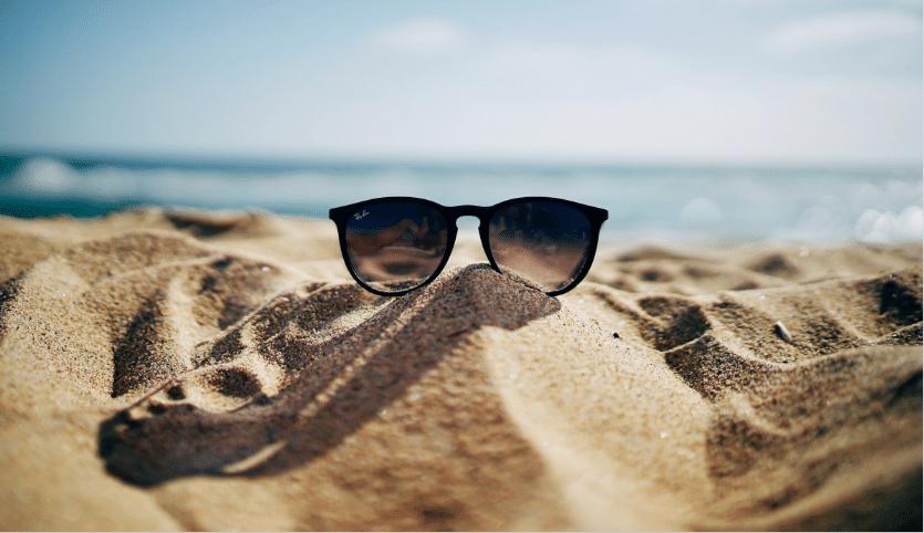 lunettes de soleil été plage