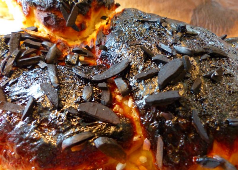 brioche gâteau raté brûlé carbonisé
