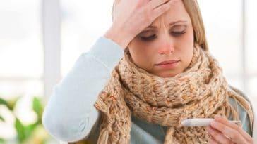 fièvre maux de tête mal de tête froid
