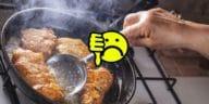 friture beignets huile fumée odeurs une