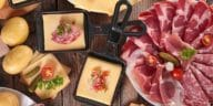 raclette fromage charcuterie