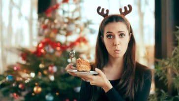 repas de fête copieux trop mangé plus faim