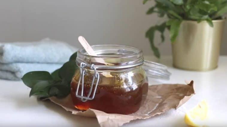 cire épilation maison au sucre
