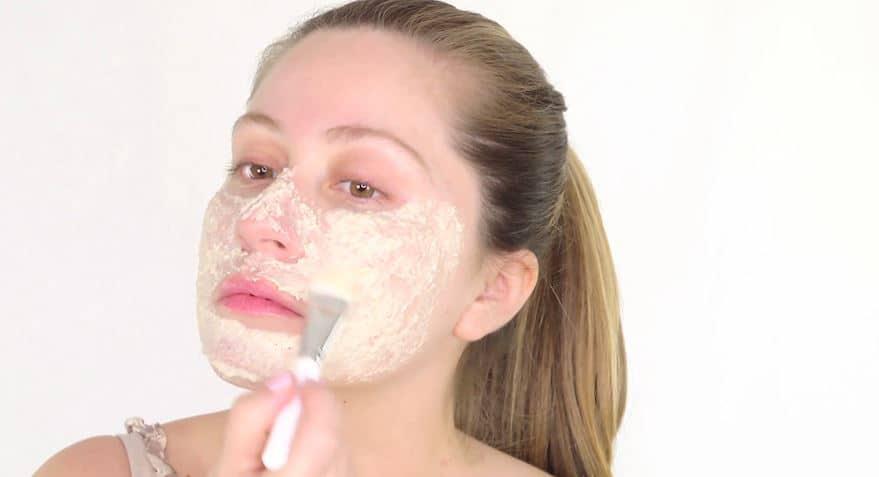 masque à l'avoine