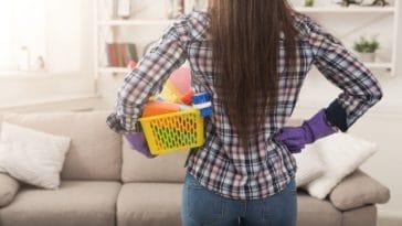 ménage de printemps tâches ménagères