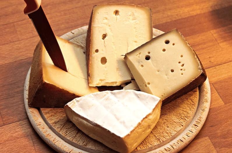 fromages à pâte dure emmental pour grignoter sans grossir