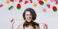 grignoter bonbons sucré faim poids régime grossir