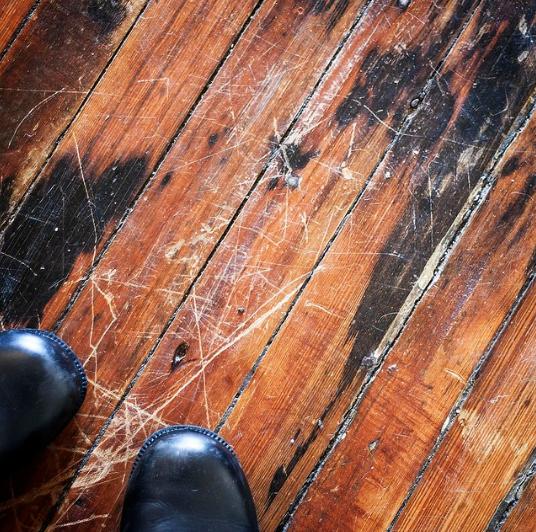rayures surfaces en bois