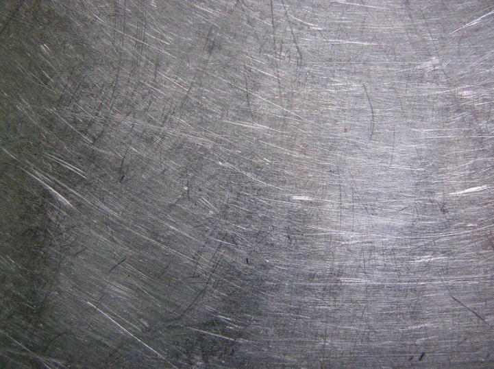 rayures surfaces métalliques