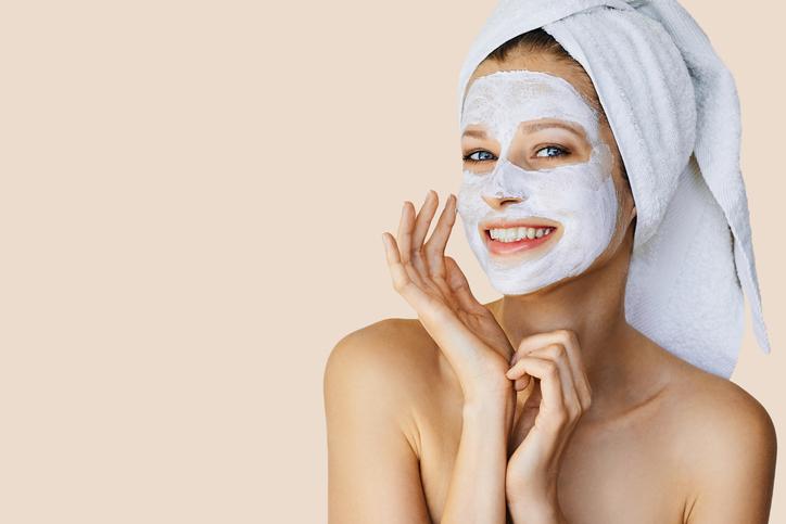 Masque visage peau sensible
