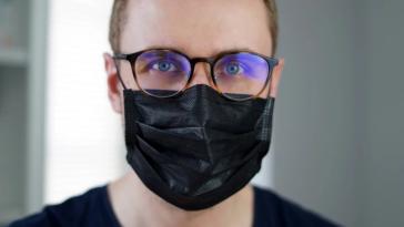 buée lunettes masque de protection