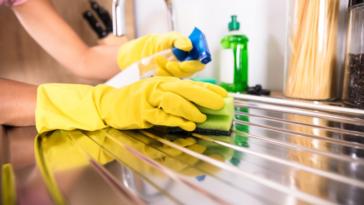 nettoyer nettoyage acier inoxydable inox ménage évier
