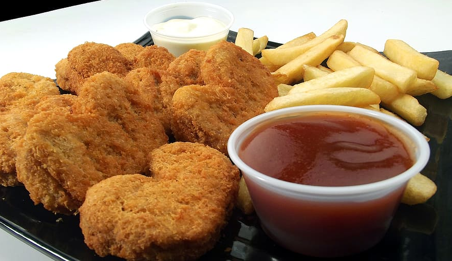 nuggets poulet frit junk food malbouffe