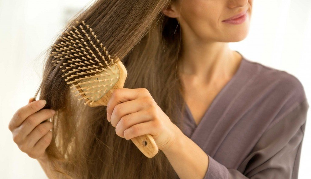 démêler demêlant cheveux brosse