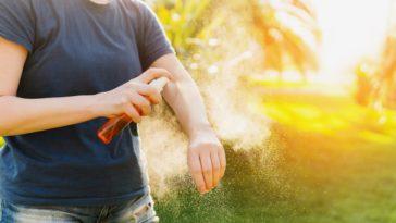 répulsif insecte spray peau