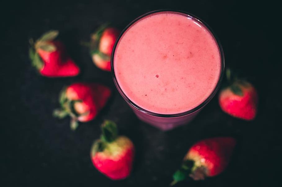 smoothie fraises