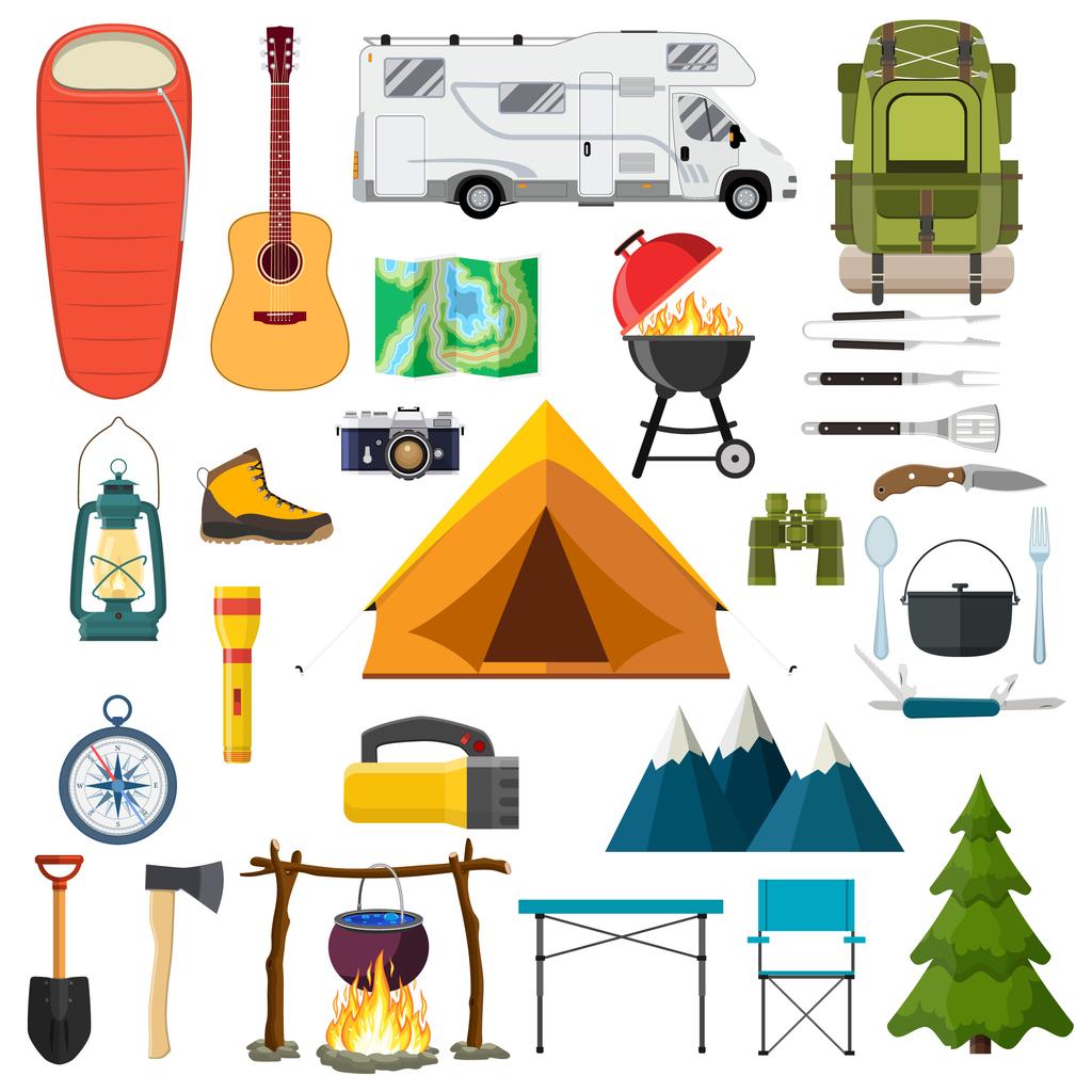 objet camping