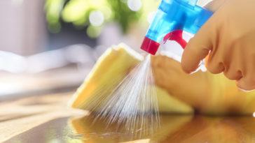 nettoyage ménage nettoyant spray